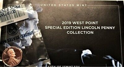 2019-W Lincoln Shield Cent Gem Proof Cent - New Special Issue (West Point Mint)