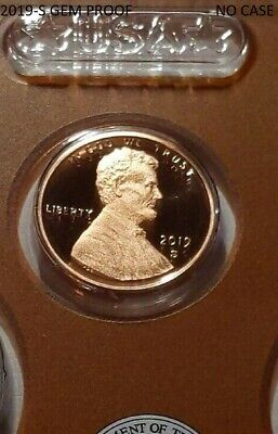 2019-S Gem Proof Lincoln Shield Cent - First Day Of Issue - (*low Shipping*)