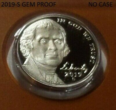 2019-S Super Sharp Gem Proof Jefferson Nickel) - (***low Shipping***)