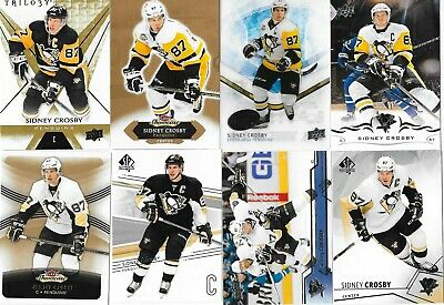 Sidney Crosby Lot Of 21 Inserts, Parallels, Sp, More Pittsburgh Penguins