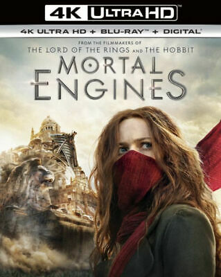 Mortal Engines 4K Ultra HD & Blu-ray, includes Slipcover