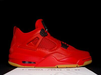 ab1a65faa57092 Nike Air Jordan 4 IV Retro Singles Day Red Black Gum Wmns 11 Mens 9.5 AV3914