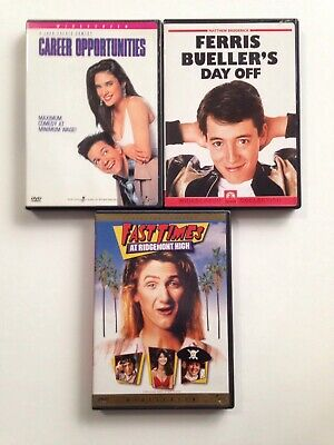 Career Opportunities Ferris Buellers Day Off Fat Times At Ridemont High DVD Lot