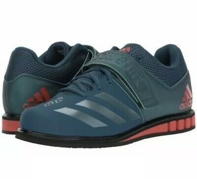 67b0f646bbea Adidas Powerlift 3.1 BA8014 Blue Red Crossfit Weight Lifting Men's 6.5 Wmns  8