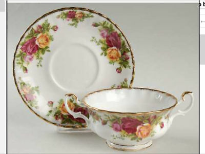 Royal Albert Old Country Roses   Soup Cup  And Saucer  England