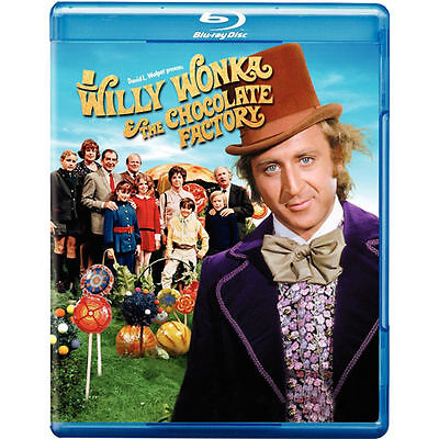 Willy Wonka and the Chocolate Factory (Blu-ray Disc) Gene Wilder