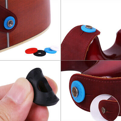 4pcs Silicone fender strap lock system easy install for guitar bass ukulele -