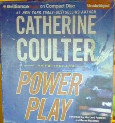 LOT of 7 ~ AUDIO BOOKS ON CD BY CATHERINE COULTER- VERY GOOD CONDITION