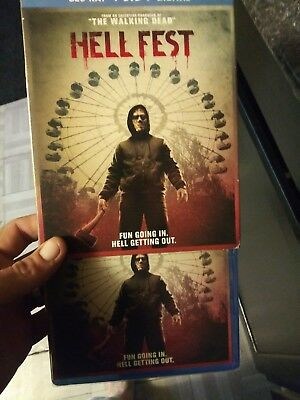 Hellfest (BLU-RAY ONLY 2018) Case+Artwork INCLUDED.