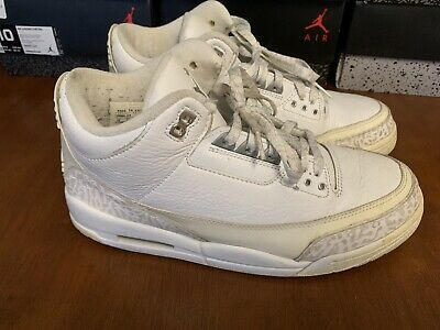 41ee430db0ca3e NIKE AIR JORDAN Iii 3 Retro Pure   Money 2007 136064 103 Sz 9 ...