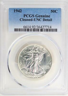 1942 Walking Liberty Half Dollar - PCGS UNC Details *DoubleJCoins* - 2008-24