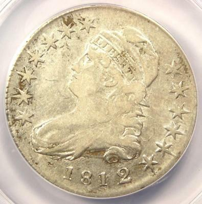 1812/1 Capped Bust Half Dollar 50C O-102 - ANACS VF20 Details - Rare Overdate!