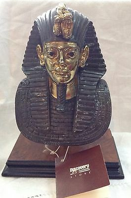 Egyptian Bust of King Tut Signed  Italian Sculptor A.Giannetti New w tag Vintage