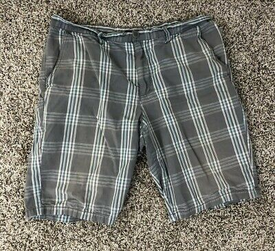 Vurt Shorts 36 Mens Plaid Checkered 36W