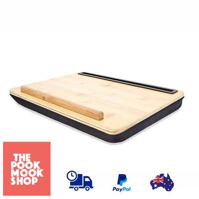 Portable Bamboo Tablet Laptop Cushion Bed Notebook Support Desk Stand Holder