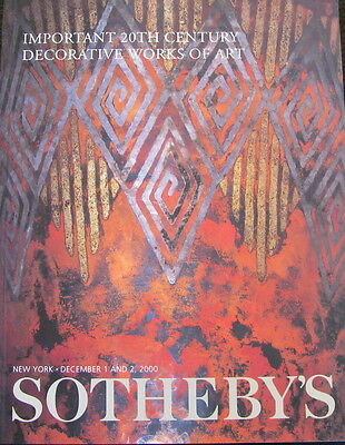 SOTHEBY'S Important 20th Century Decorative Works of Art – Armand-Albert Rateau