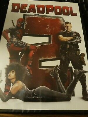 Deadpool 2 (DVD,2018)Brand NEW(Sealed)Free Shipping