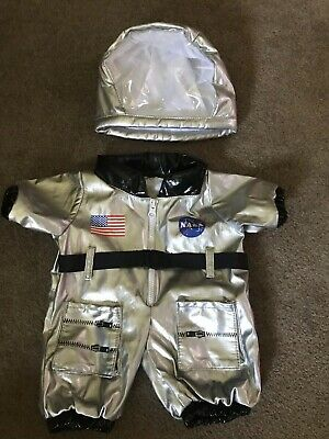 Build A Bear Bab Astronaut Nasa Silver Outfit Space