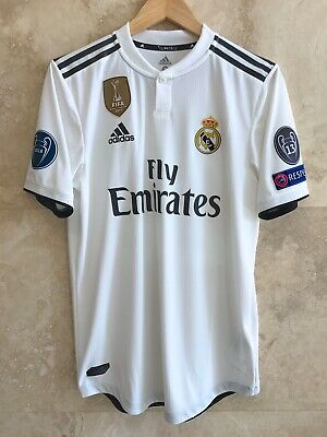 new product 00d1f de97f 2018-19 REAL MADRID Isco Alarcon Climachill Champions League player issue  jersey
