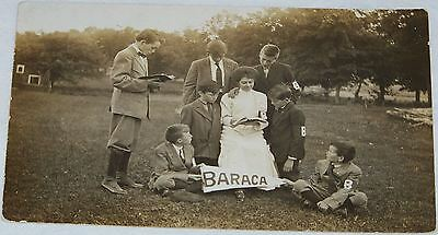 "Rare Antique Picture PostCard ""Baraca Bible Classes"" 1890s"