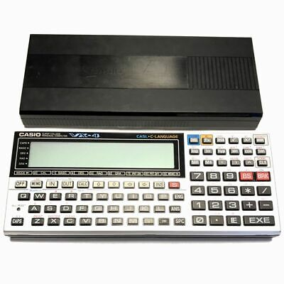 Casio VX-4 Pocket Computer Calculator BASIC CASL C Excellent from Japan F/S