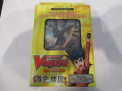 Cardfight Vanguard Golden Mechanical Soldier Trial Deck 03 New /& Sealed