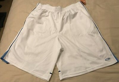 a5de7544fb73 NWT C9 Champion Men s Athletic Shorts XL WHITE Track Sports Basketball  Jogging