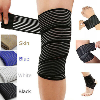 Adjustable Durable Sport Bandage Wrap For Knee Elbow Wrist Shin Ankle Hand Waist