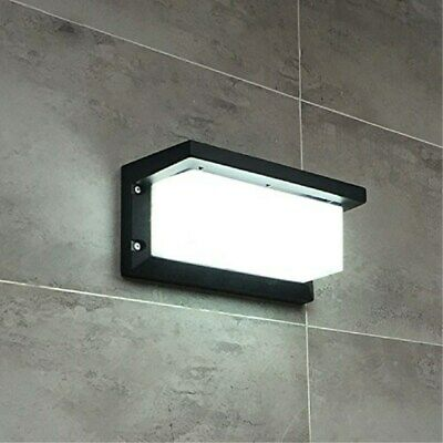 LED Wall light Outdoor Waterproof Alu Alloy Sconce Lighting Square Cool White US