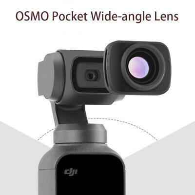 For DJI OSMO POCKET Gimbal Wide Angle Camera Lens Video Bloggers Accessory