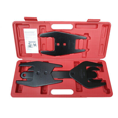 5pc Fan Clutch Wrench Set Foreign & Domestic Clutch Remover Installer Tool Kit