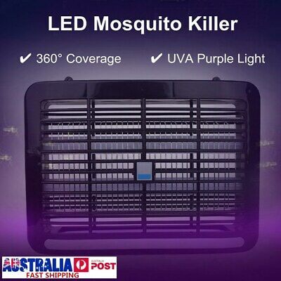 AU Electric Home Restaurant Insect Mosquito Pest Fly Killer Bug Zapper Trap UV-A