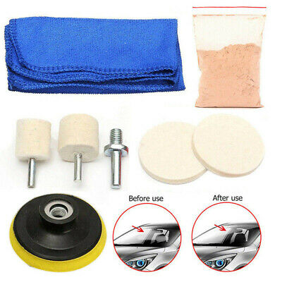 Windscreen Polishing Scratch Glass Repair Kit DIY Remover Car Care Cleaning New