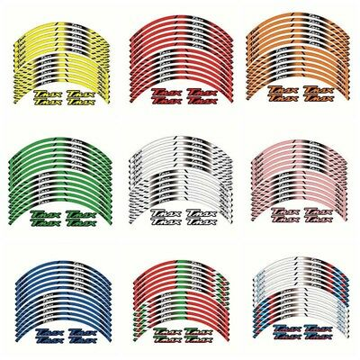 Motorcycle Wheel Decals Reflective Stickers Rim Stripes For YAMAHA T-MAX TMAX530
