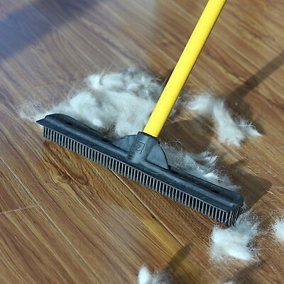 SWEEPA RUBBER BROOMS X 2  with 2 free rubber brushes