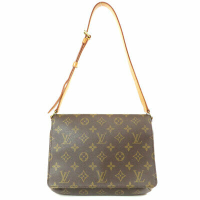 abe61cd5417e LOUIS VUITTON M51257 Shoulder Bag Musette · Tango Short Monogram canvas