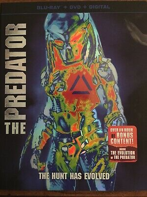 """""""THE PREDATOR"""" with Slipcover (Blu Ray ONLY)"""