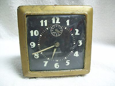 Vintage 1940's Westclox Working Wind-Up Alarm Clock Made in USA