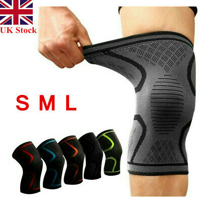 Knee Compression Brace Support Sleeves Strap Band Arthritis Pain Relief Chusion