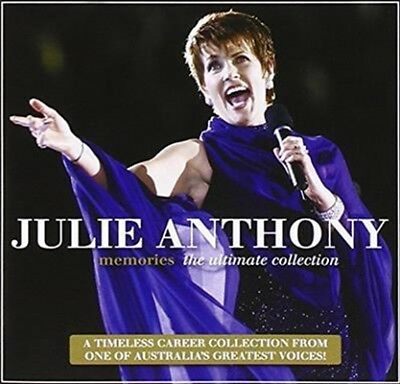 """JULIE ANTHONY """"Memories - The Ultimate Collection"""" 2015 20Trk CD *The Seekers"""