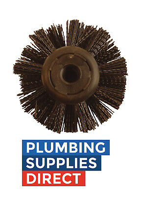 """Universal 6"""" Drain Rod Brush Plunger Accessory / Replacement"""