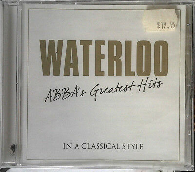 """V/A """"Waterloo - Abba's Greatest Hits In A Classical Style"""" 2014 16Trk CD *ABBA"""