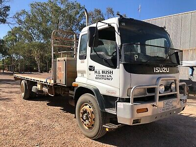 isuzu truck fvr 950 long sitec road ranger with  crate for stock not mitsubishi