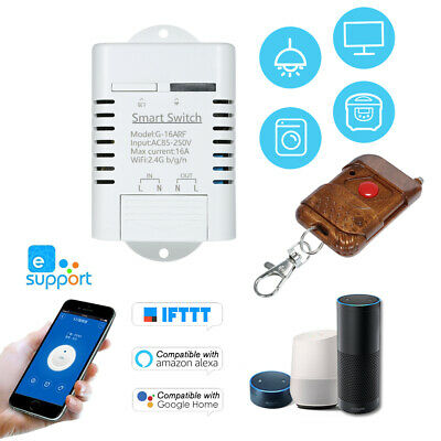 Sonoff RF 433MHZ Remote WiFi Wireless Smart Switch Module Timer Caller APP Ctrl