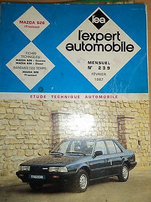 REVUE TECHNIQUE AUTOMOBILE - MAZDA 626 (Traction) - L'EXPERT AUTOMOBILE