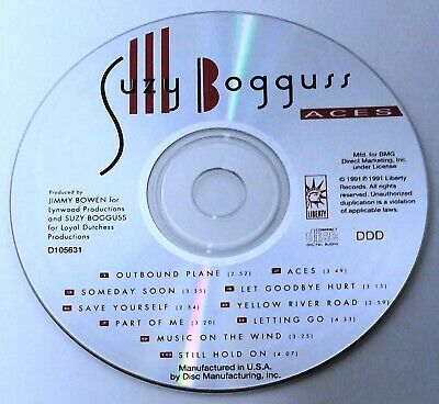 Aces by Suzy Bogguss (CD, 1991, Liberty)