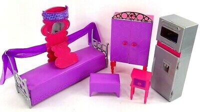 Lot Barbie Doll House Furniture Accessories Play Set Refrigerator