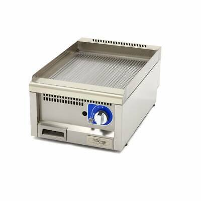 Commercial Grade Griddle Grooved - Gas - 40 x 60 cm