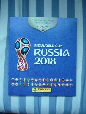 Panini Football STICKER ALBUM - World Cup 2018 Russia - Unused