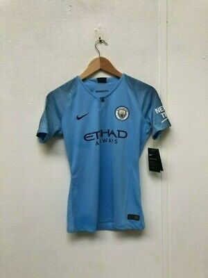 Nike Manchester City FC 2018/19 Women's Home Shirt - Small - No Name - New